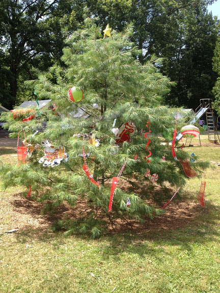 Camp Alleghany Christmas Tree