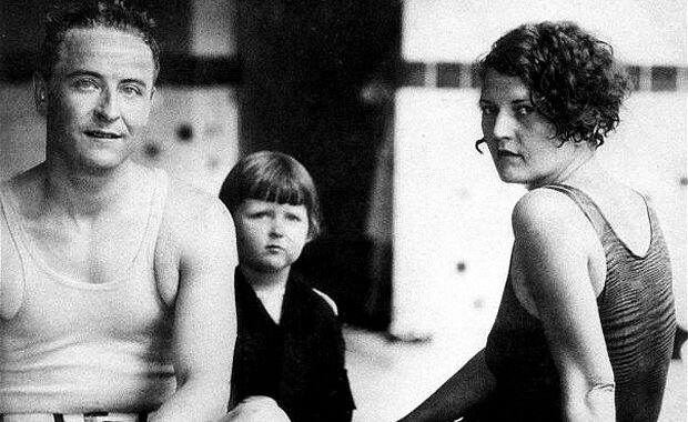 F Scott and Family