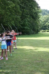 archery at camp alleghay