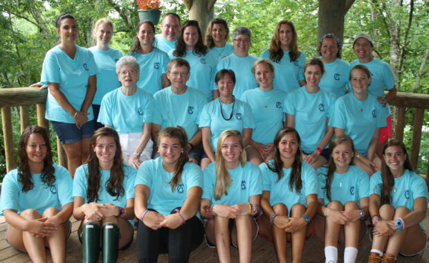 Family Camp Staff at Camp Alleghany
