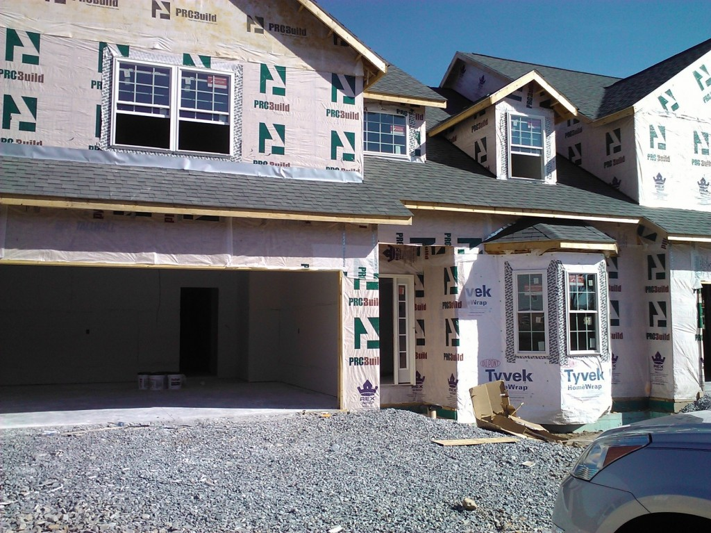 Sam and Bonnie's new house as of September, 2013.