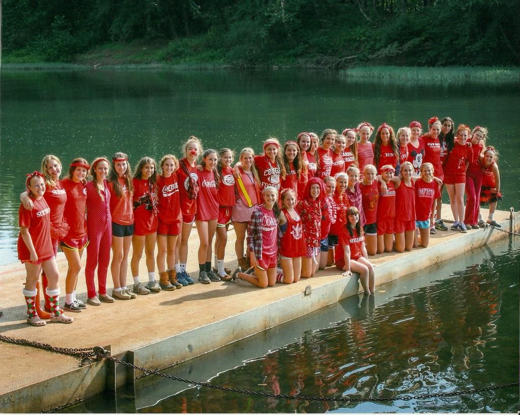 Summer 2013 Upstarts. Photo: Camp Alleghany Archives.