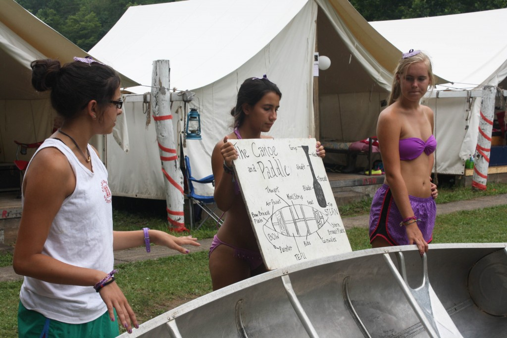 Canoe learning