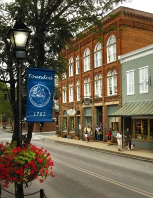 Lewisburg, West Virginia downtown