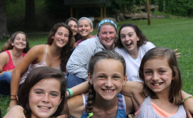 Campers at Camp Alleghany