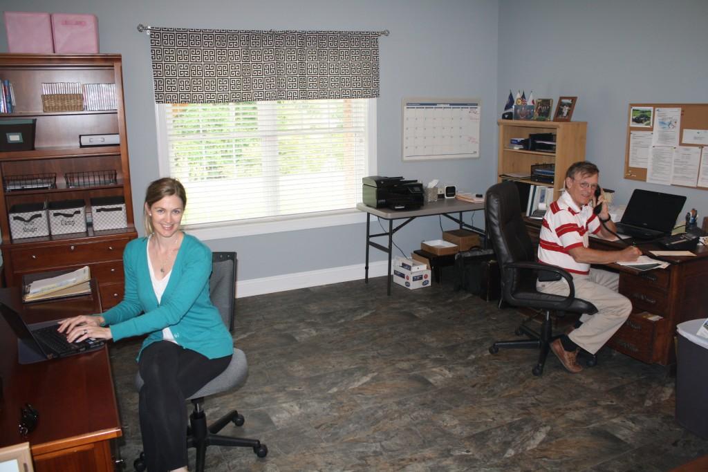 Camp Alleghany Winter Office