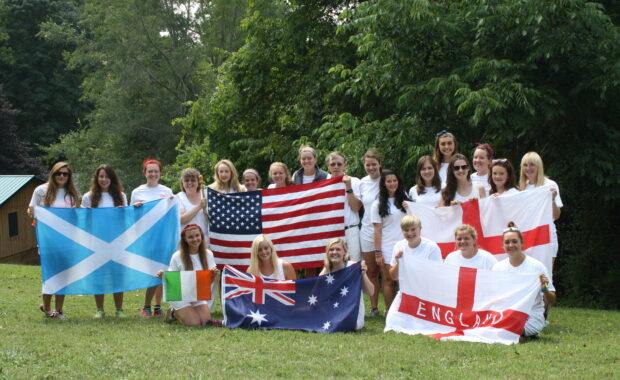 Camp Alleghany international staff members