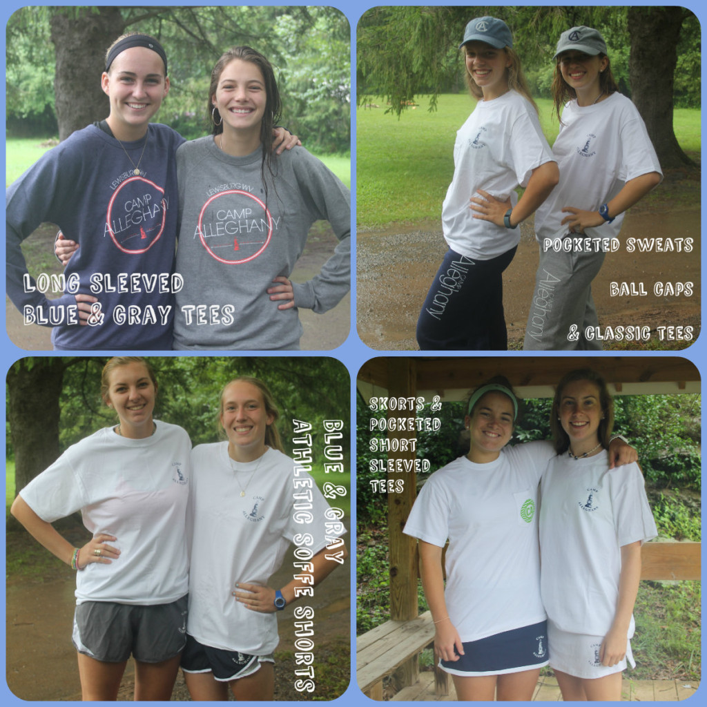 Camp Alleghany Blue and Gray merchandise