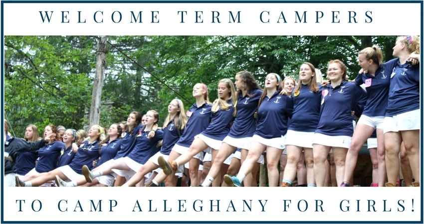 Camp Alleghany for Girls Opening Day
