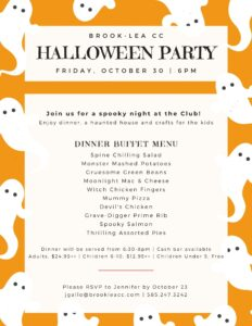 Halloween Party @ Brook-Lea Country Club