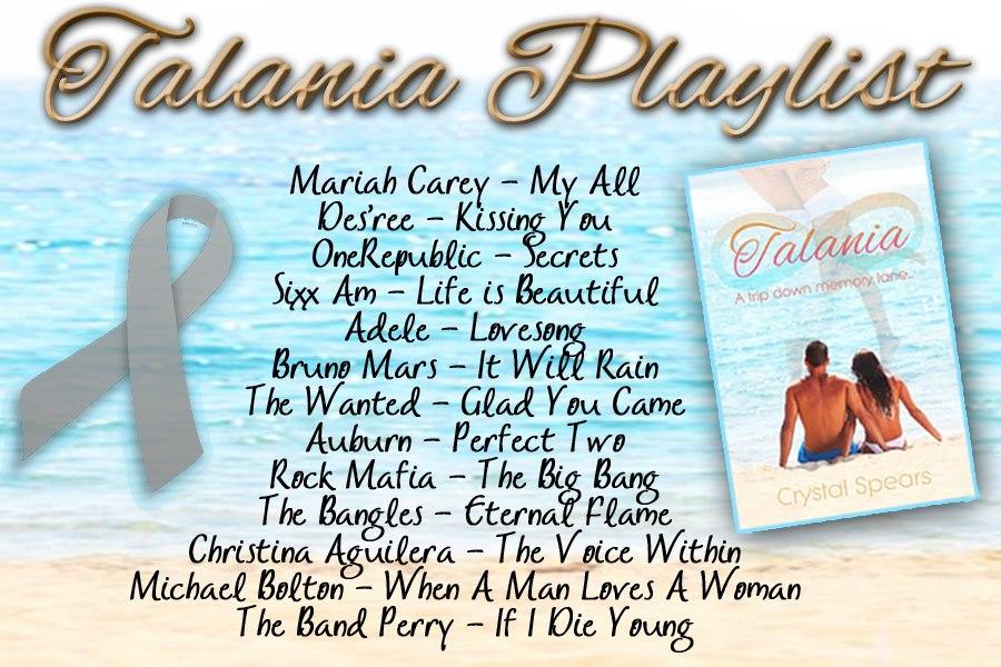 Talania Blog Tour Playlist