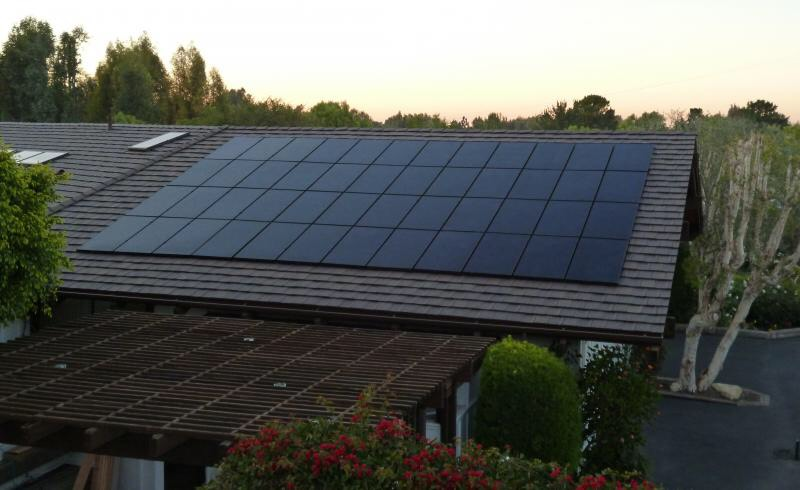 Pitched Roof Solar Installation Gallery