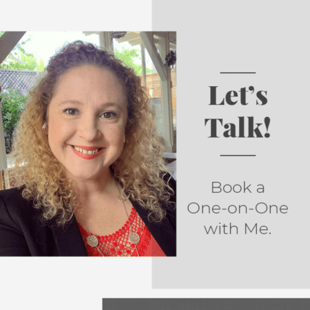 Book a one-on-one video consultation with me