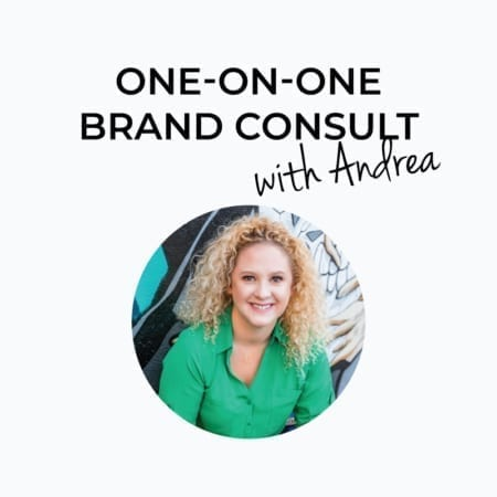 Personal Branding Consultation with Andrea Guevara