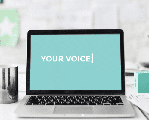 Finding Your Voice in Writing