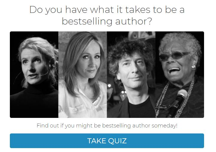 build your audience with quizzes