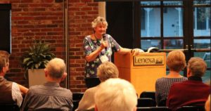 Elaine at Sierra Club
