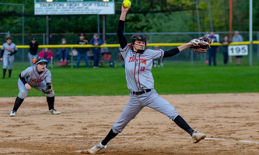 Taunton softball Kelsey White
