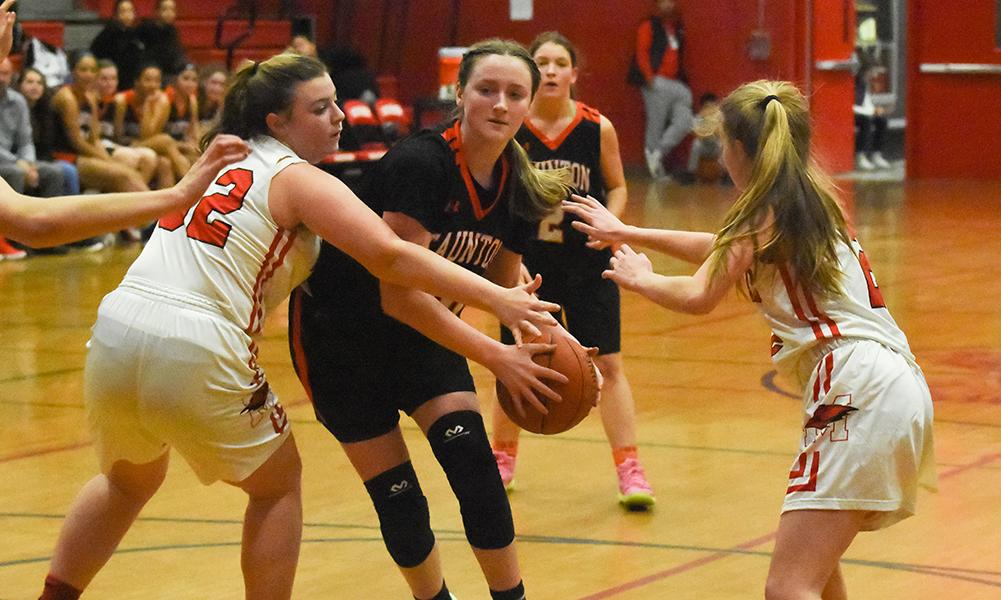Taunton girls basketball