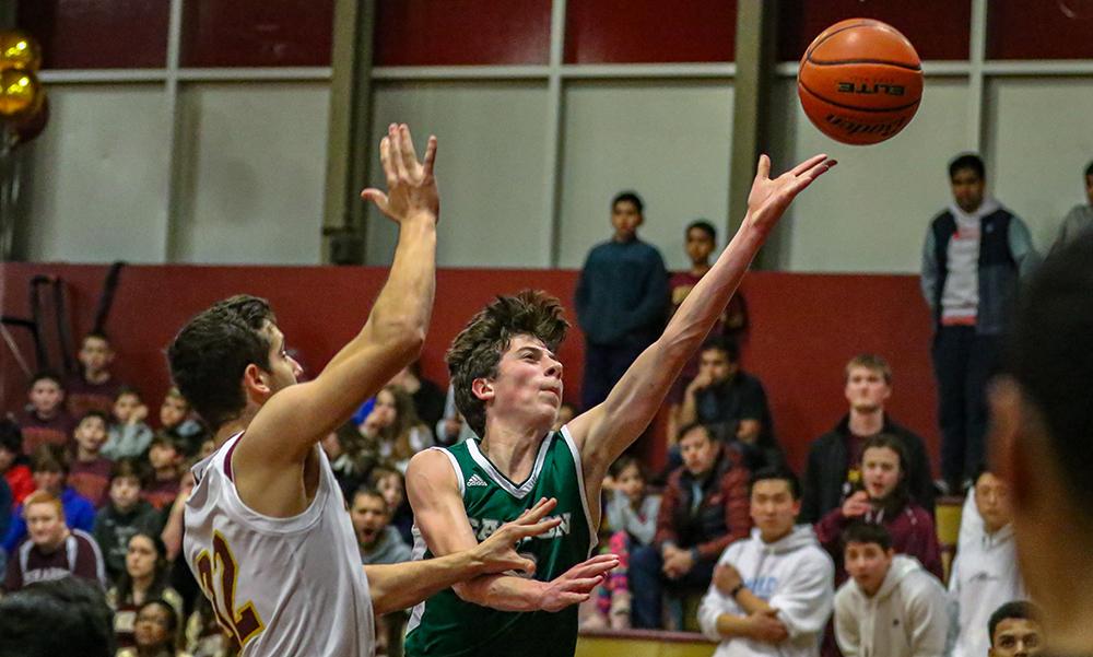 Canton boys basketball Nick Cushman