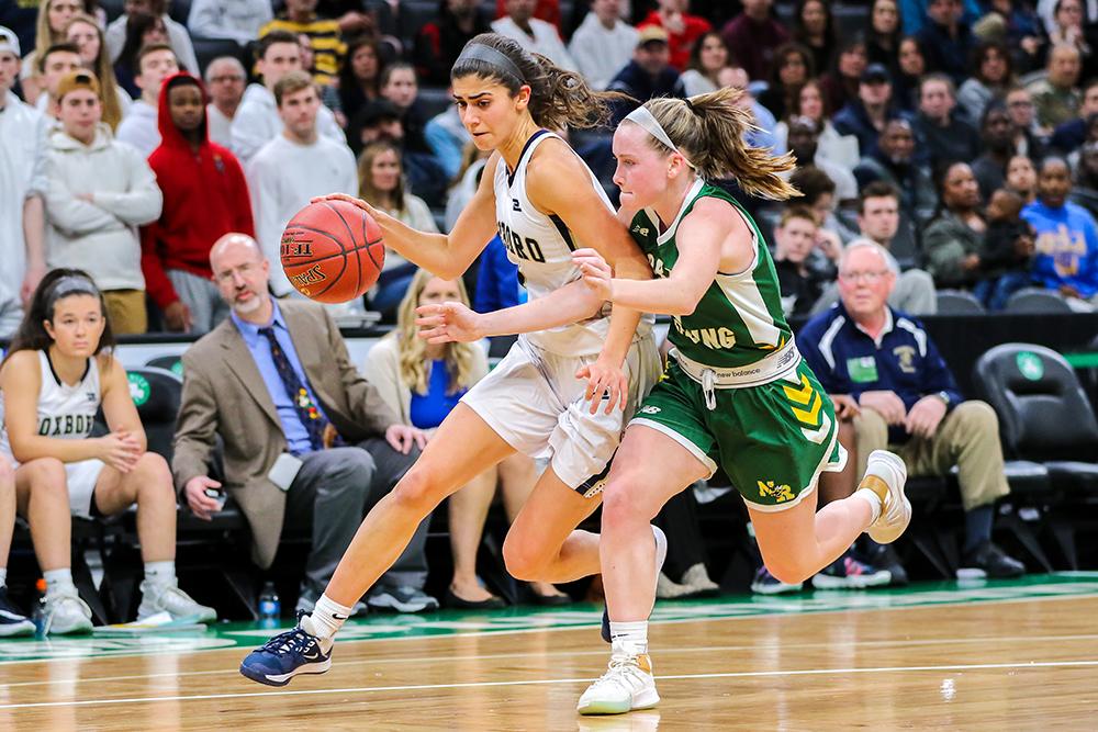 Foxboro girls basketball Yara Fawaz