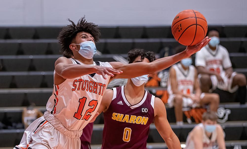 Stoughton boys basketball Waseem Sablon