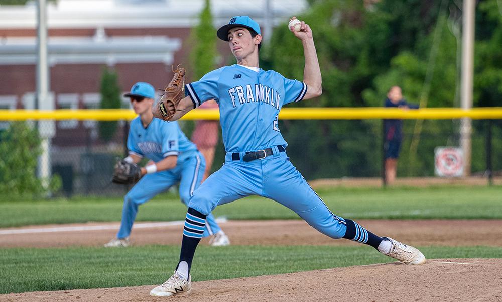 Franklin baseball Jacob Jette