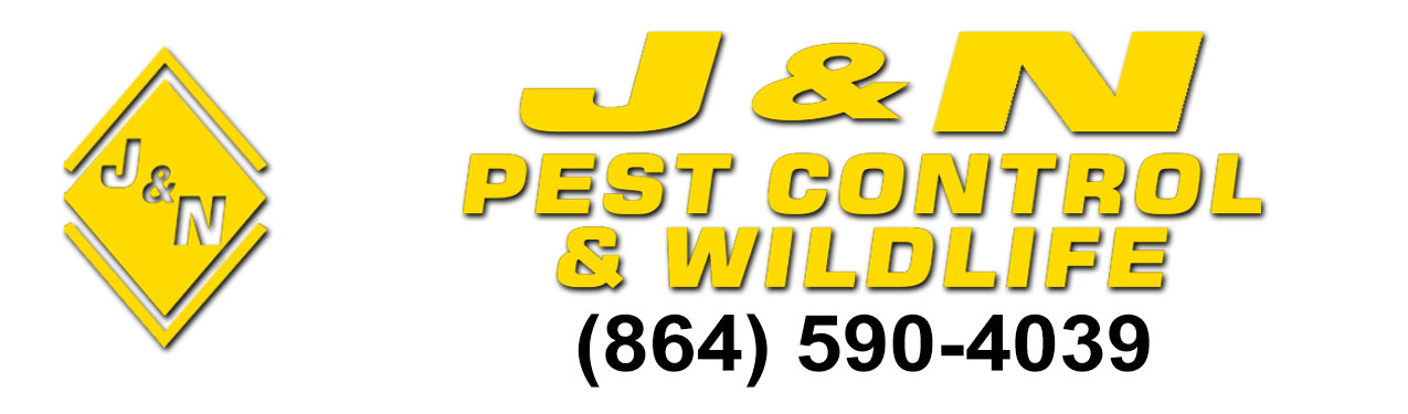 j&n pest control and wildlife llc spartanburg sc pest control logo