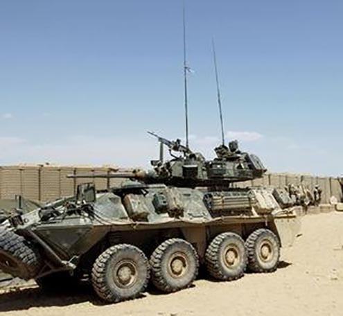 King's Own Calgary Regiment - Vehicles