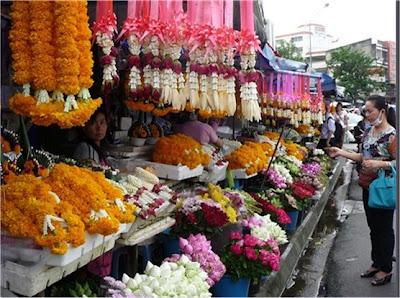 018.- Mercado de las Flores en Chiang mai