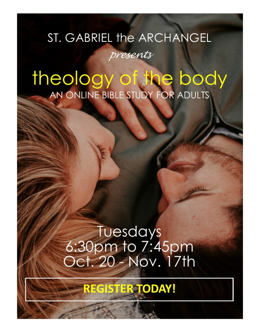 Theology of the Body Bible Study