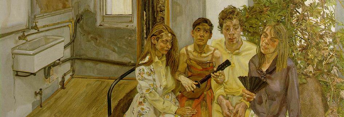Interior – Lucian Freud (recorte)