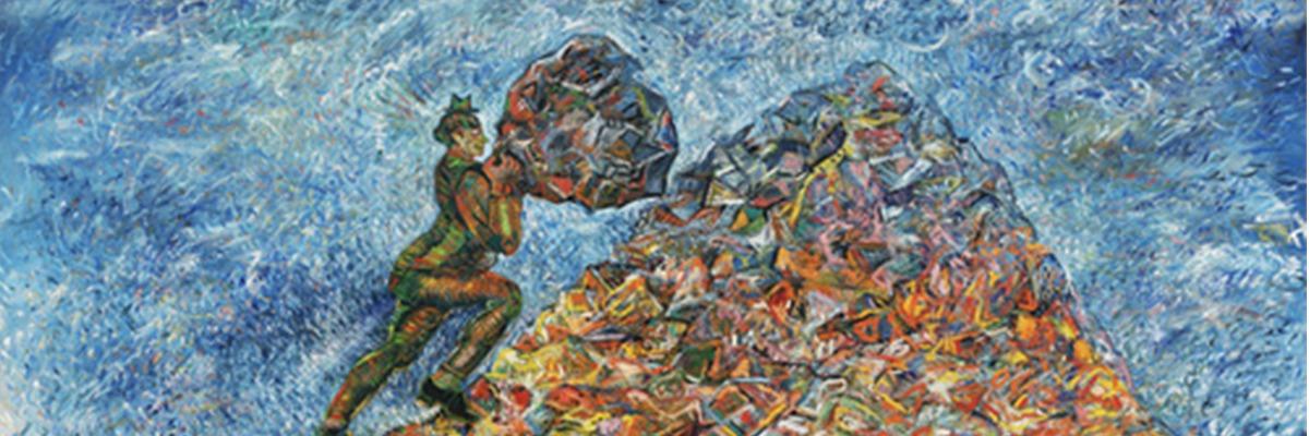 The Idleness of Sisyphus Sandro Chia (Italian, born 1946) – Acervo MOMA