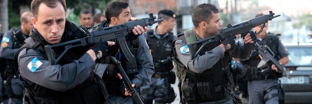 Guerra contra o tráfico no Rio.