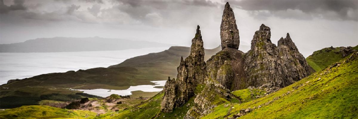 Área preservada na Escócia.