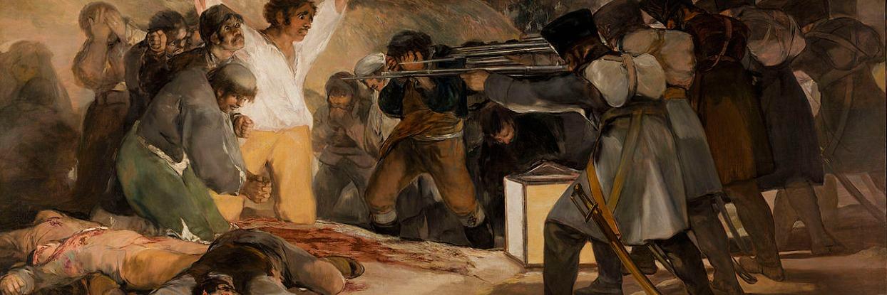 The Third of May 1808 - Francisco Goya.