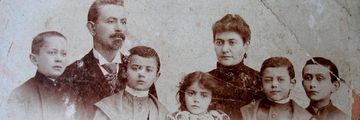 Família Judaica Polonesa, 1900.