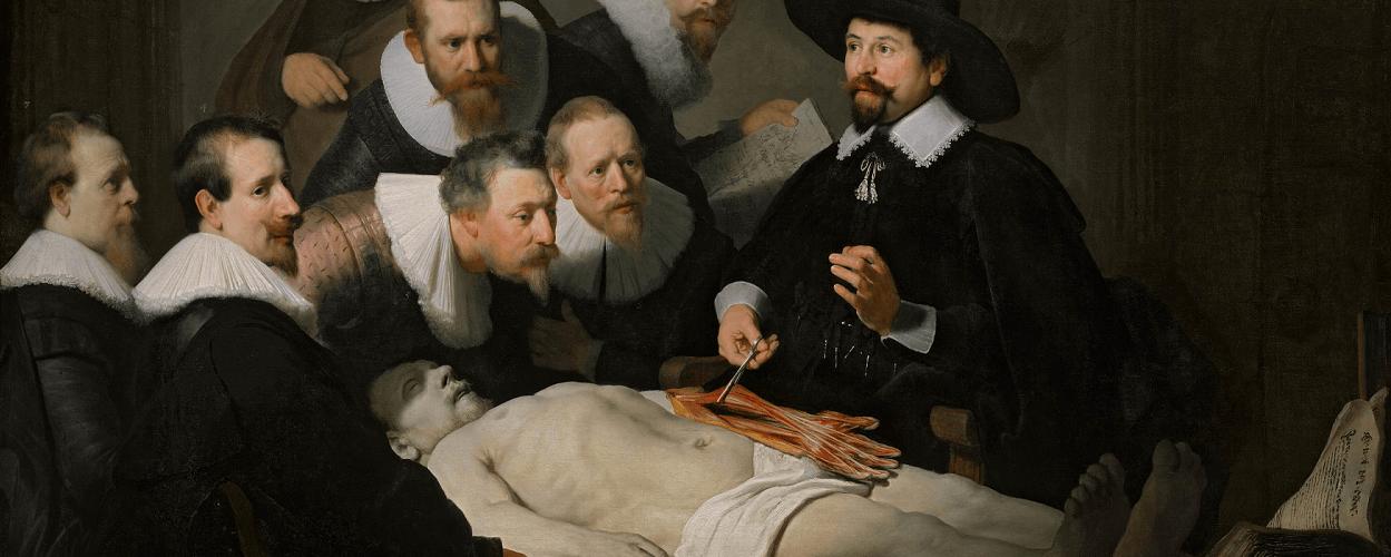 Dissecando a corrupção. (Recorte a Lição de Anatomia do Dr. Tulip – Rembrant- 1632)Dissecando a corrupção. (Recorte a Lição de Anatomia do Dr. Tulip – Rembrant- 1632)