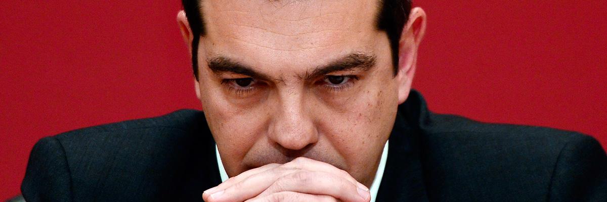 Aléxis Tsípras – Primeiro Ministro da Grécia.