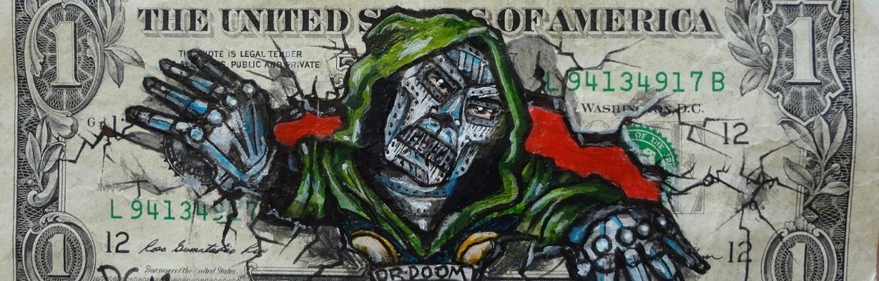 Money art by Donovan Clark.