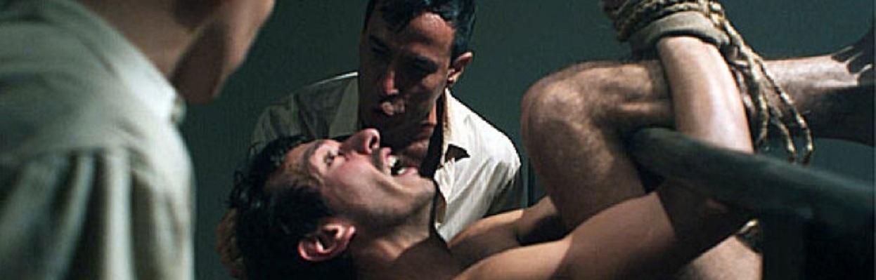 Cena de filme sobre tortura no Brasil.