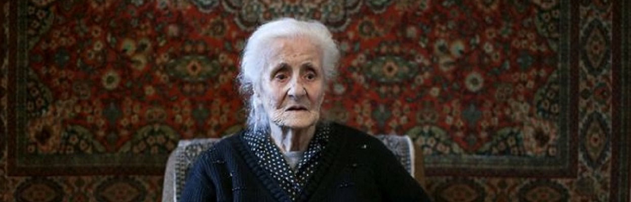 Old Armenian woman.
