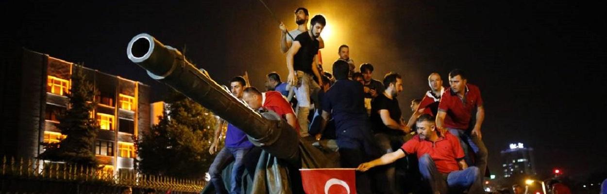 Tentativa de golpe na Turquia - Julho de 2016.