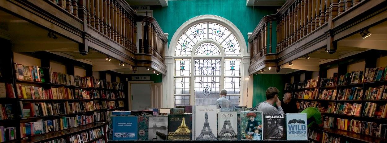Waterstones bookstore, Edinburgh.