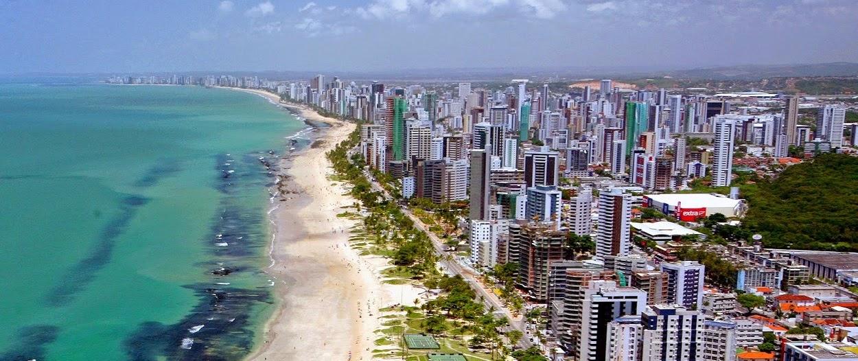 Praia de Boa Viagem - Recife.
