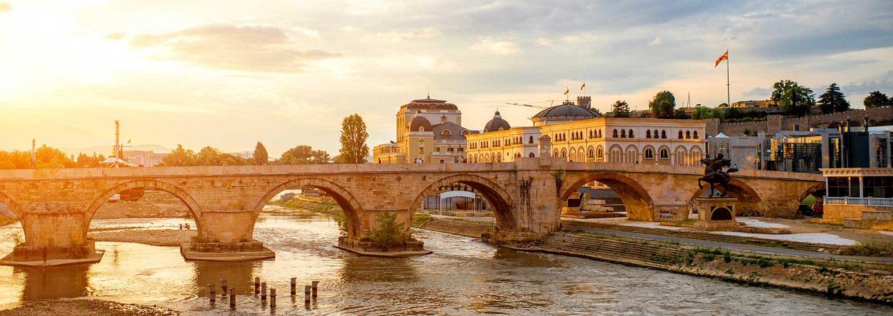 Capital da Macedônia by Jewish Heritage Travel.