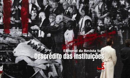 Descrédito das instituições