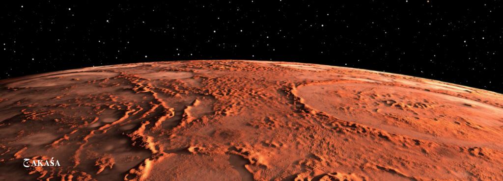 Marte no meu coração