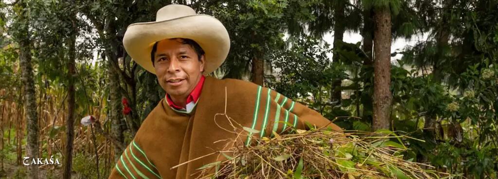 Pedro Castillo - provável presidente eleito do Peru