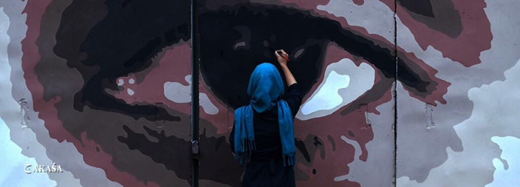 Grafitti em Kabul.